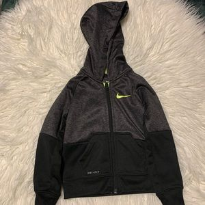 Nike toddler dri-fit hoodie zip-up
